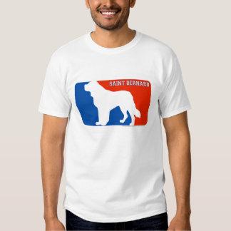 Saint Bernard Major League Dog T-Shirt