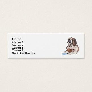 Saint Bernard Mini Business Card