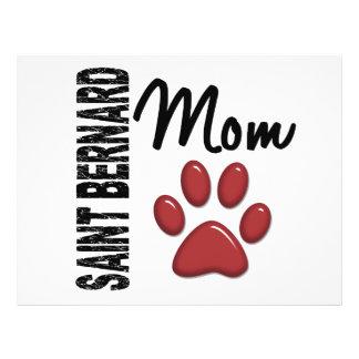 Saint Bernard Mom 2 Flyer Design