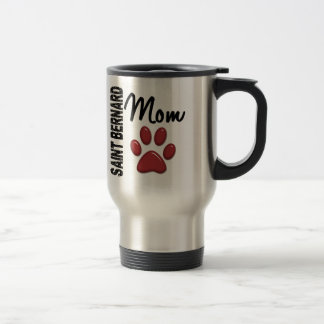 Saint Bernard Mom 2 Travel Mug