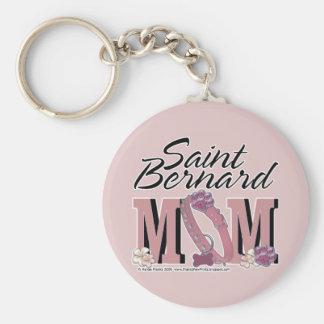 Saint Bernard MOM Key Chain