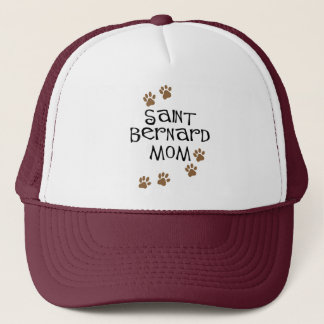 Saint Bernard Mom Trucker Hat