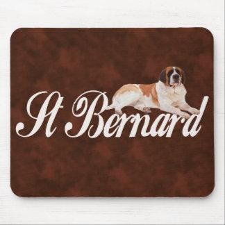 Saint Bernard Mouse Pad