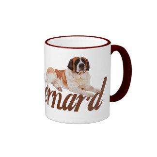 Saint Bernard Ringer Coffee Mug