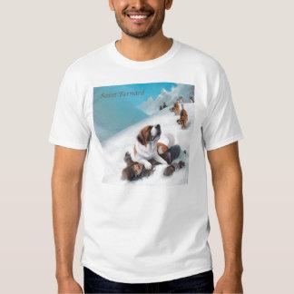 Saint Bernard Mug T Shirt