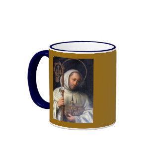 Saint Bernard* of Clairvaux Cup Ringer Coffee Mug