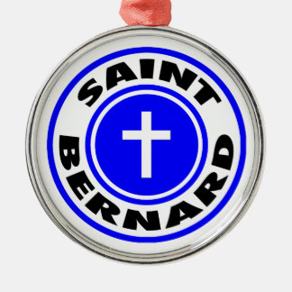 Saint Bernard Christmas Tree Ornament
