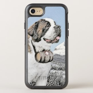 Saint Bernard OtterBox Symmetry iPhone 8/7 Case
