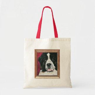 Saint Bernard Painting - Bags