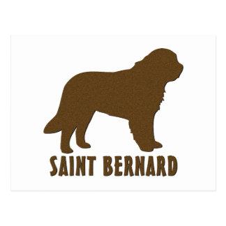 Saint Bernard Postcard
