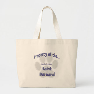Saint Bernard Property Canvas Bag