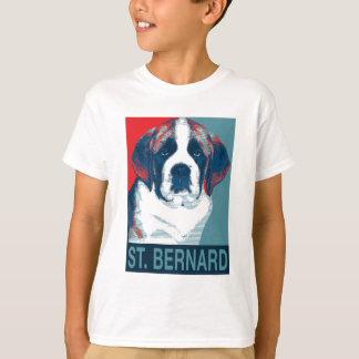 Saint Bernard Puppy Hope Political Parody Design T-Shirt
