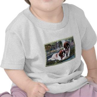 Saint Bernard Puppy's T Shirts