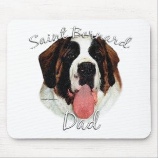 Saint Bernard (rough) Dad 2 Mouse Pad