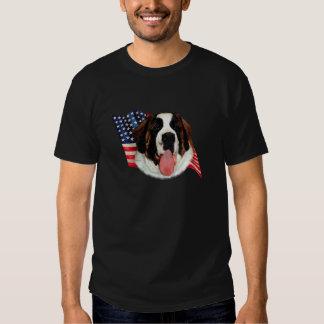 Saint Bernard (rough) Flag Shirt