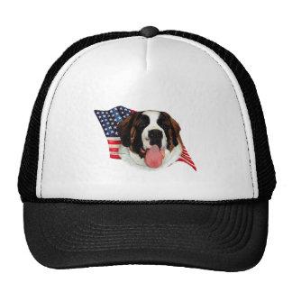 Saint Bernard (rough) Flag Trucker Hat