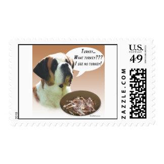 Saint Bernard (smooth) Turkey Stamp