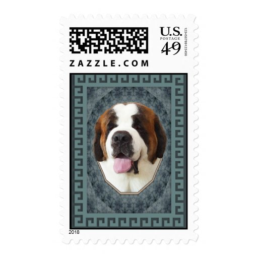 Saint Bernard Stamps
