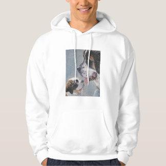 Saint Bernard Sweatshirt hoody