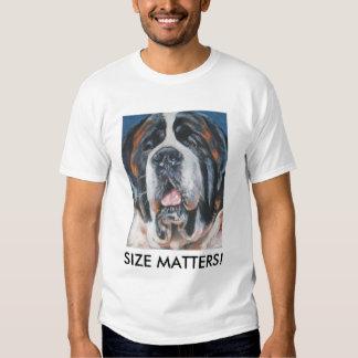 saint bernard t-shirt SIZE MATTERS!