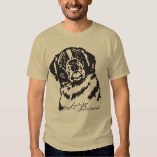 saint bernard tee shirt