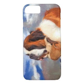 Saint Bernard The Lifesaver iPhone 7 Case