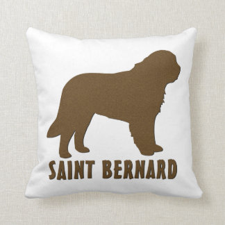 Saint Bernard Throw Pillow
