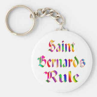SAINT BERNARDS RULE KEYCHAIN