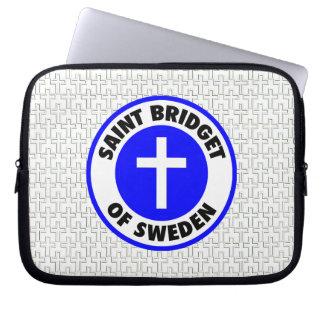 Saint Bridget of Sweden Laptop Sleeve