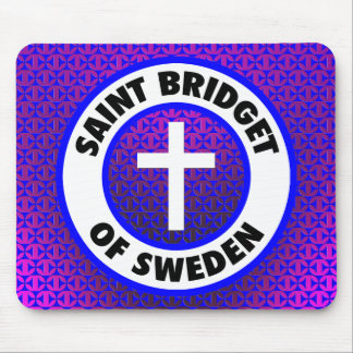 Saint Bridget of Sweden Mouse Pad