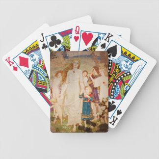 Saint Brigid as a Bride Bicycle Playing Cards