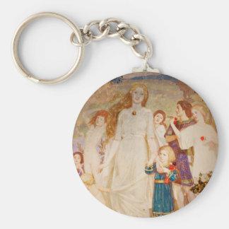 Saint Brigid as a Bride Keychain