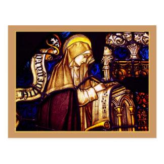 Saint Brigid of Sweden Postcard