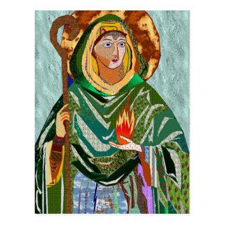 Saint Brigid Postcard
