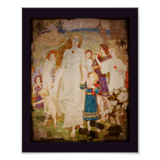 Saint Brigid the Bride Poster