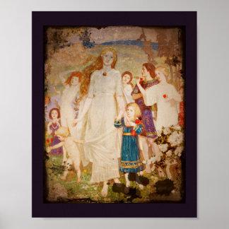 Saint Brigid the Bride Posters
