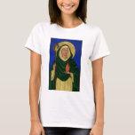 Saint Brigid with Holy Fire T-Shirt