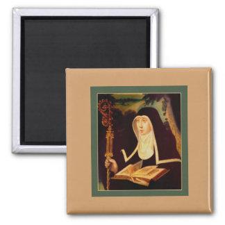 Saint Brigid's Bible and Staff Magnet