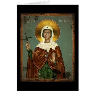 Saint Brigid's Cross Card