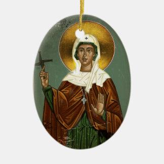 Saint Brigid's Cross Ceramic Ornament