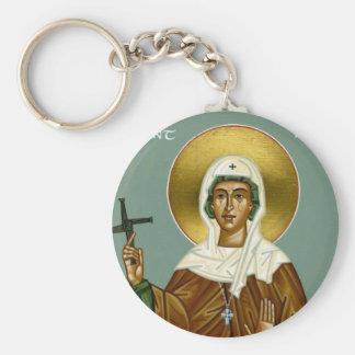 Saint Brigid's Cross Key Chain