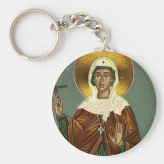 Saint Brigid's Cross Keychain