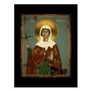 Saint Brigid's Cross Postcard