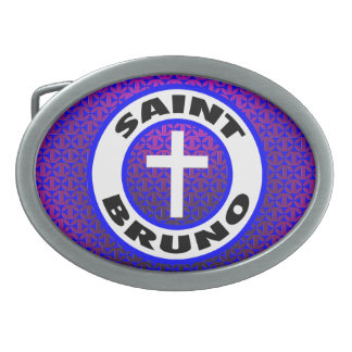 Saint Bruno Belt Buckle