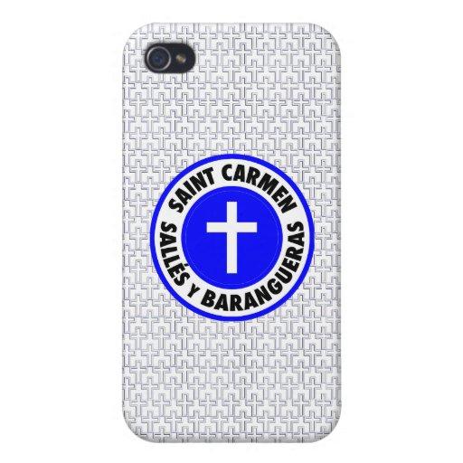 Saint Carmen Sallés y Barangueras Covers For iPhone 4