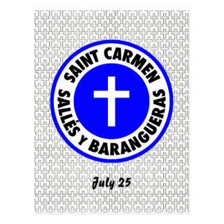 Saint Carmen Sallés y Barangueras Postcard