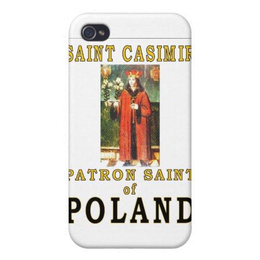 SAINT CASIMIR CASES FOR iPhone 4