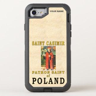 SAINT CASIMIR  (Patron Saint of Poland) OtterBox Defender iPhone 7 Case