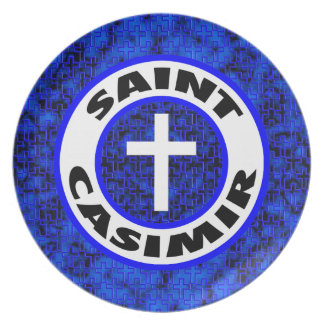 Saint Casimir Plate