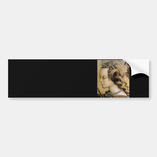Saint Catherine of Alexandria Bumper Sticker